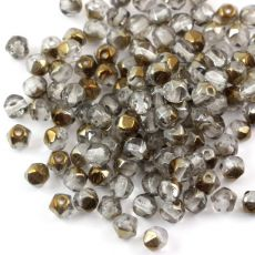 Fire Polish 6mm Crystal Bronze [20szt]