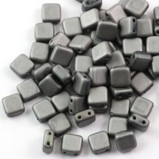 Square 6x6mm Full Chrome Matted [10szt]