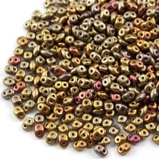 SuperDuo 2.5x5mm Bronze Rainbow [10g]