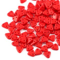 Triangle 6mm Opaque Red [40szt]