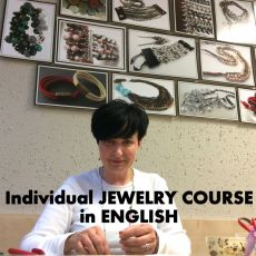 Individual JEWELRY COURSE in ENGLISH - advanced level (3H)