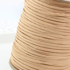 Sznurek sutasz USA 2,5mm deep beige POLY [1metr]