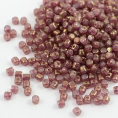 Minos par Puca 2,5x3mm Light Pink Opal Bronze [40szt]