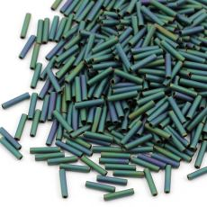 Toho Bugle #3 Matte-Color Iris - Teal 9mm [5g]