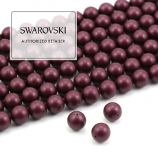 5810 Swarovski Crystal Pearl Elderberry 8mm [4szt]