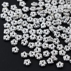 Mini Flower Beads Crystal Labrador Full 5mm [50szt]