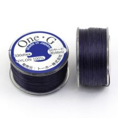 One-G nici nylonowe light navy 0,25mm [szpula]