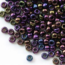 Toho Round 8/0 Metallic Iris Purple [10g]