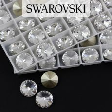 1122 Swarovski Rivoli 12mm Crystal