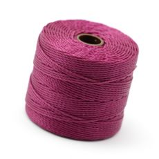 Nici nylonowe S-Lon heavy twist bead/mac cord WINEBERRY 0,62mm/70m [szpula]
