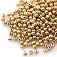 Round Beads Aztec Gold 3mm [50szt]