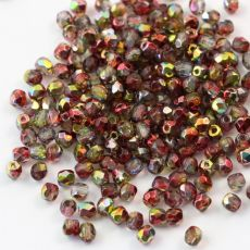 Fire Polish 3mm Crystal Magic Apple   [40szt]