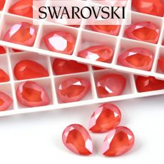 4320 Swarovski Pear Fancy Stone 14X10mm Light Coral