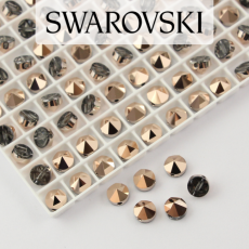 5062 Swarovski Rose Gold Round Spike Bead 5,5mm - 1 hole [2szt]