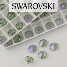 5062 Swarovski Paradise Shine Round Spike Bead 7,5mm - 2 hole [2szt]