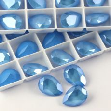 4320 Swarovski Pear Fancy Stone 14X10mm Summer Blue