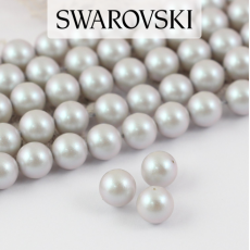 5810 Swarovski Crystal Pearl Iridescent Dove Gray 4mm [10szt]