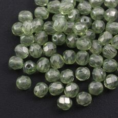 Fire Polish 6mm Light Peridot [20szt]