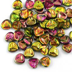 Rose Petals 8x7mm Crystal Magic Orchid [10szt]