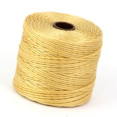 Nici nylonowe S-Lon heavy twist bead/mac cord WHEAT 0,62mm/70m [szpula]