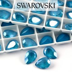 4320 Swarovski Pear Fancy Stone 14X10mm Azure Blue