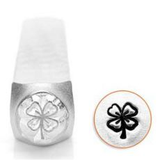 Stempel do metalu Impress Art Leaf Clover 6mm