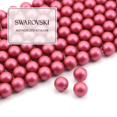5810 Swarovski Crystal Pearl Mulberry Pink 8mm [4szt]