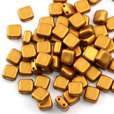Square 6x6mm Brass Gold [10szt]