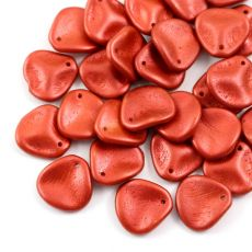 Rose Petals 14x13mm Lava Red