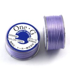 One-G nici nylonowe light lavender 0,25mm [szpula]