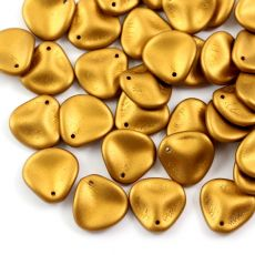 Rose Petals 14x13mm Brass Gold