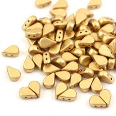 Amos par Puca 5x8mm Light Gold Matte [20szt]