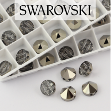 5062 Swarovski Metallic Light Gold Round Spike Bead 7,5mm - 2 hole [2szt]