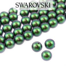 5810 Crystal Iridescent Scarabeus Green Pearl 8mm [4szt]