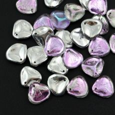 Rose Petals 14x13mm Crystal Vitrail Light
