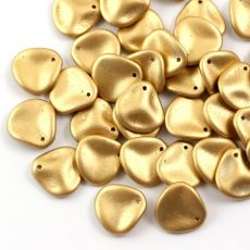 Rose Petals 14x13mm Aztec Gold