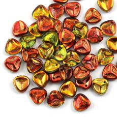 Rose Petals 8x7mm Crystal Magic Apple [10szt]