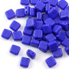 Square 6x6mm Opaque Blue [10szt]