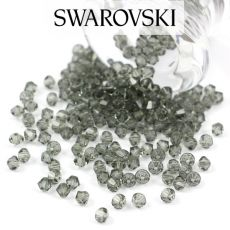 5328 Swarovski Xilion Bead 4mm Black Diamond [6szt]
