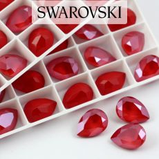 4320 Swarovski Pear Fancy Stone 14X10mm Royal Red