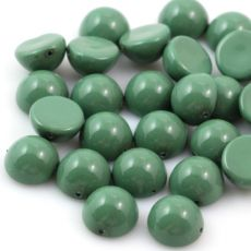 Dome Bead półkula 12x7mm Fiesta Hartford Green
