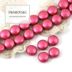 5860 Swarovski Crystal Mulberry Pink Coin Pearl 10mm [2szt]