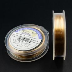Drut miedziany ARTISTIC WIRE GOLD 0,64mm/9,1m