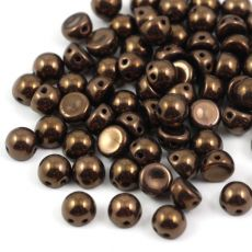 CzechMates Cabochon 7mm Dark Bronze [10szt]