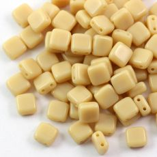 Square 6x6mm Ivory [10szt]