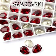 4320 Swarovski Pear Fancy Stone 14X10mm Siam