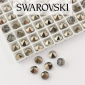 5062 Swarovski Metallic Light Gold Round Spike Bead 5,5mm - 1 hole [2szt]