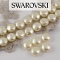 5860 Swarovski Crystal Cream Coin Pearl 10mm [2szt]