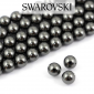 5810 Swarovski Crystal Pearl Black 4mm [10szt]