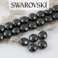 5860 Swarovski Crystal Black Coin Pearl 10mm [2szt]